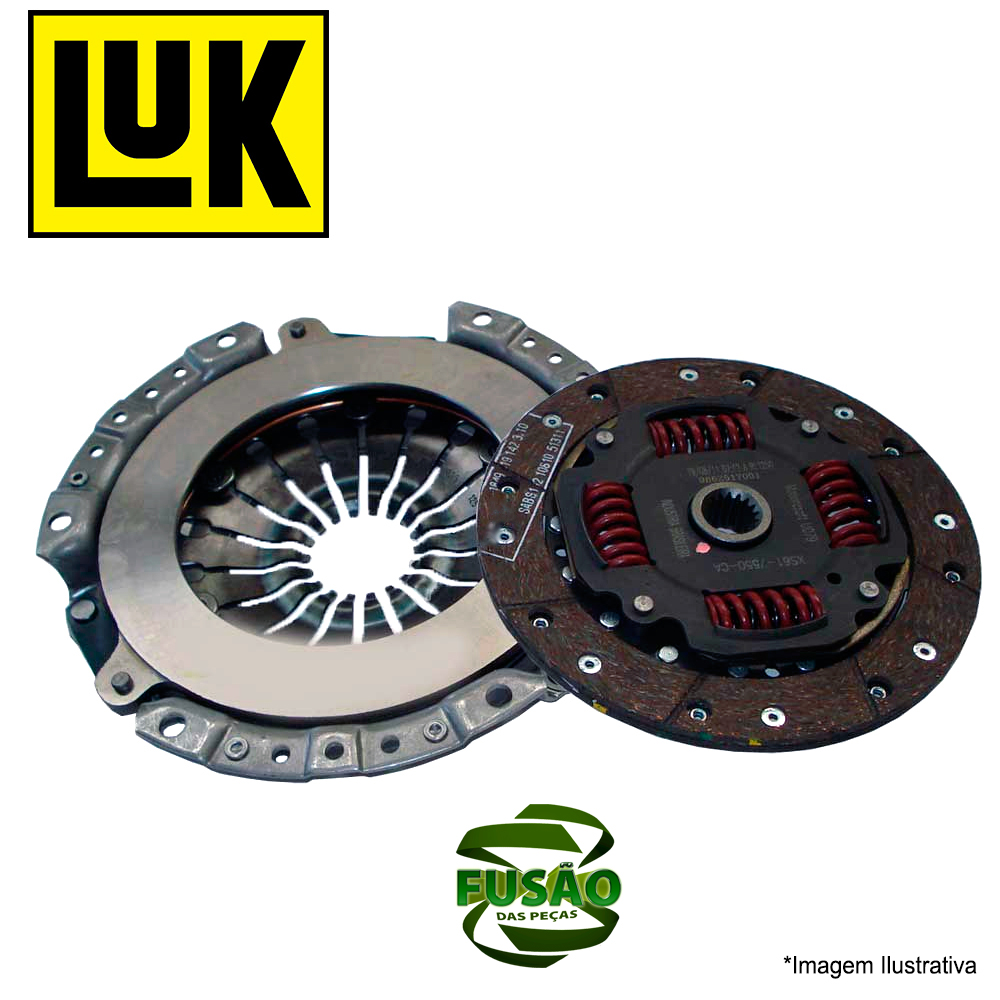 Kit Embreagem Vectra 2.2 8/16v /99 - - Luk - Pc - Sku: 62324