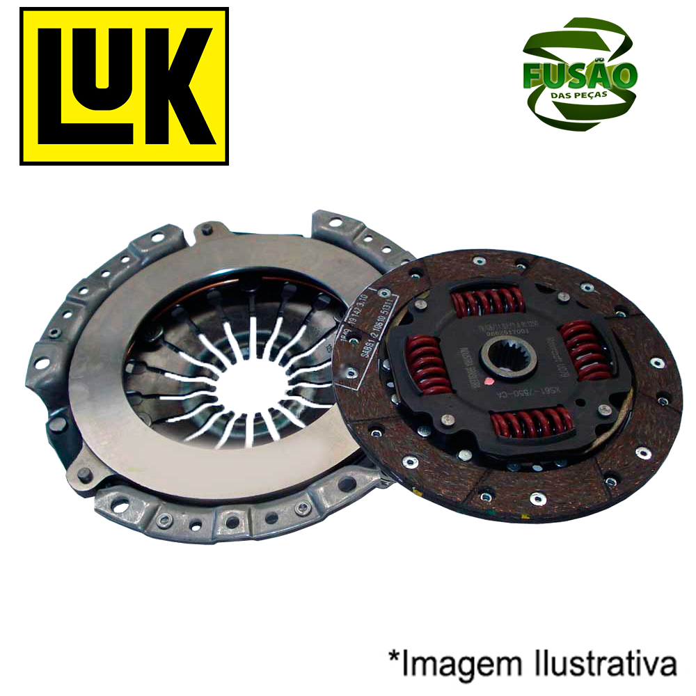 Kit Embreagem Vectra/astra 2.0/2.2 8/16v 99/ - - Luk - Pc -